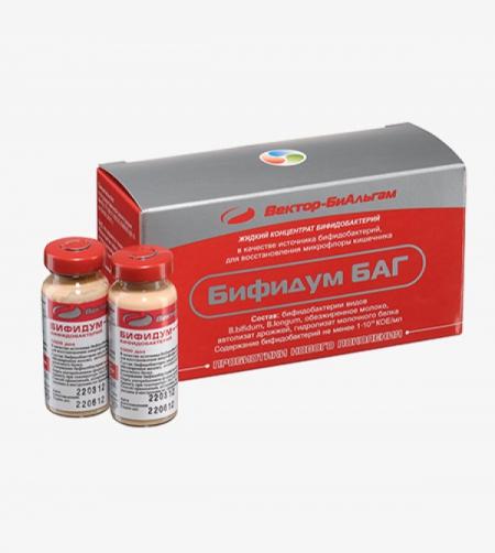 Бифидум БАГ (жидкий концентрат бифидобактерий 1000 доз)